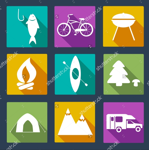 Outdoor Activity Icons