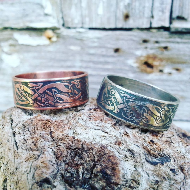 Handmade Celtic Knot Rings