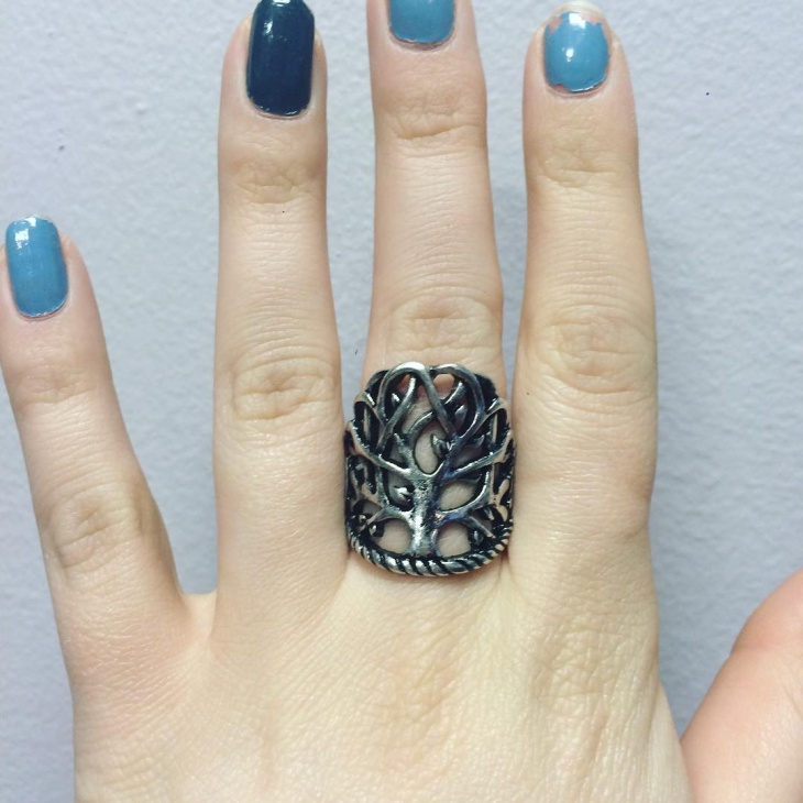 Celtic Tree Knot Ring