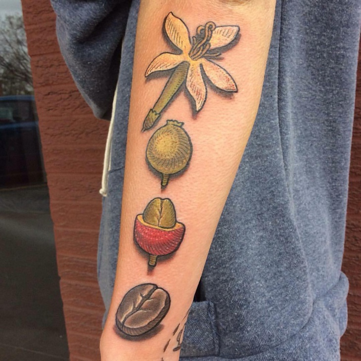 21 coffee tattoo designs ideas design trends premium