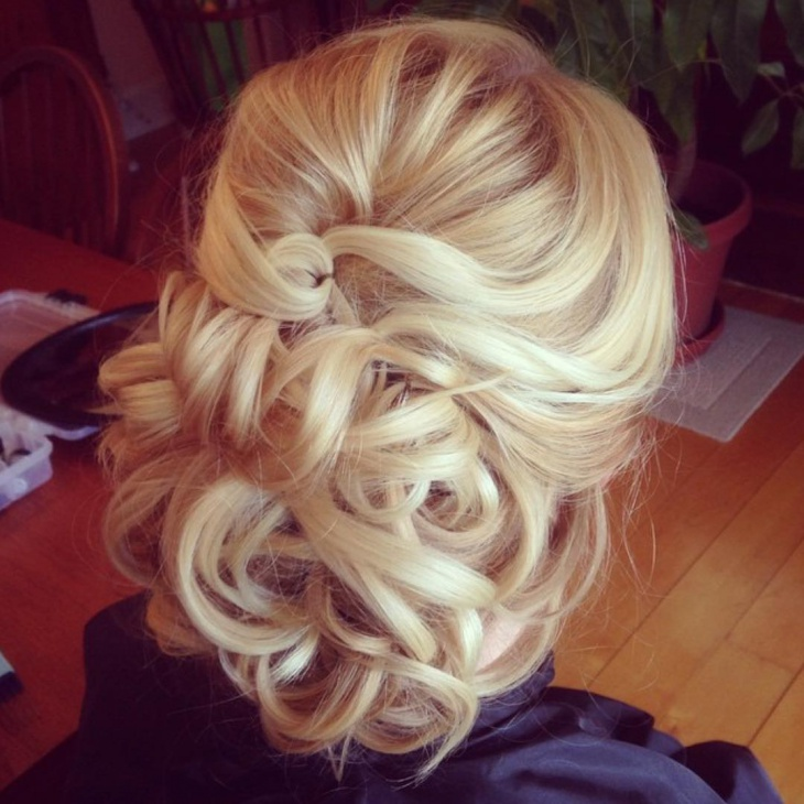 braid low bun hairstyle