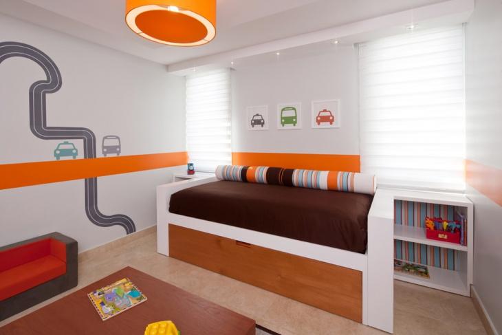 children room car wall art