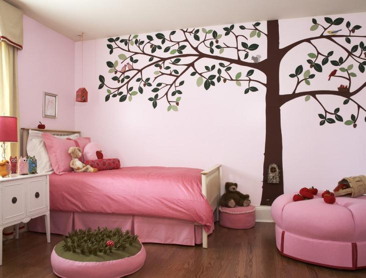 kids room tree wall art