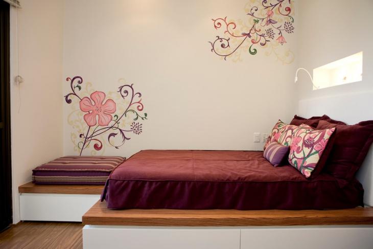 flower wall decor kids bedroom