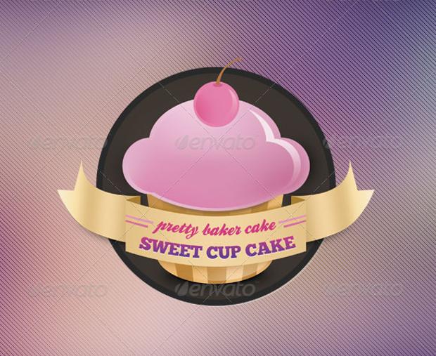 bakery vector logo template