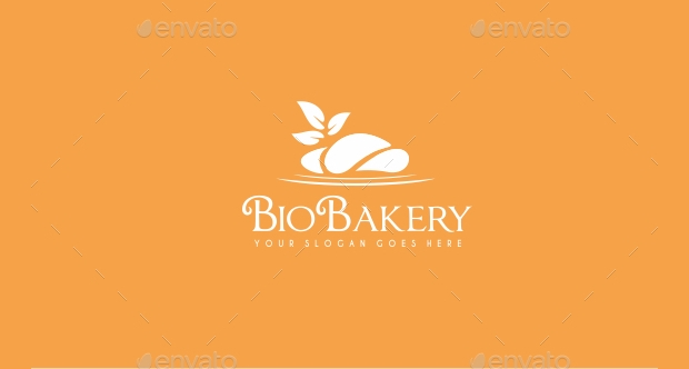 food blog this logo can help spread the word bio bakery logo design