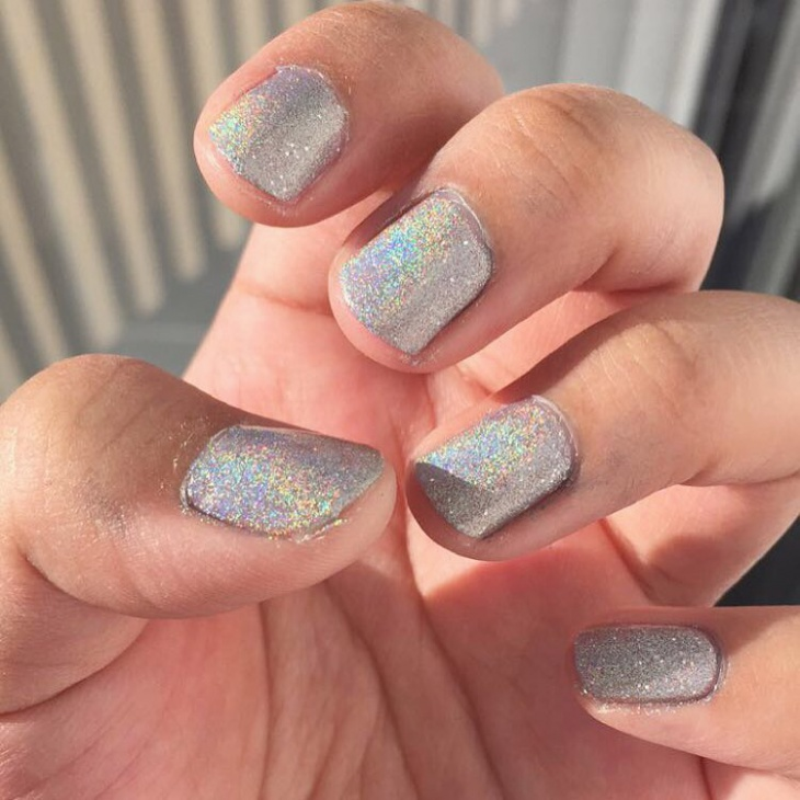 21 Holographic Nail Art Designs Ideas Design Trends