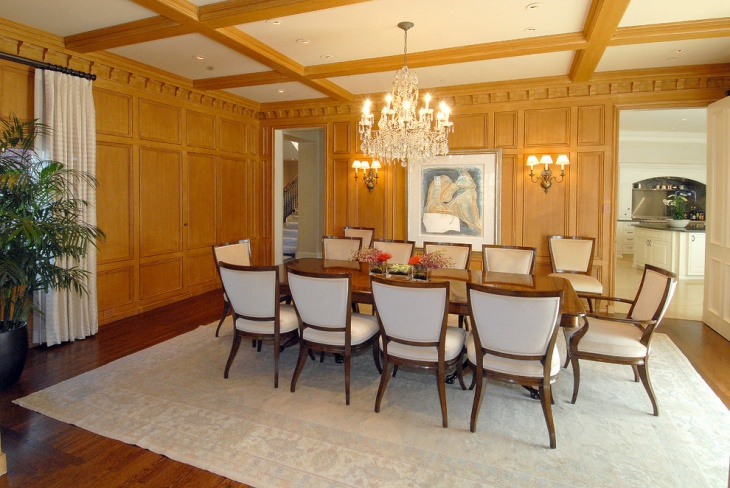 Formal Dining Room Light Design