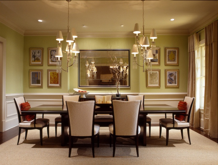 simple dining room light fixtures