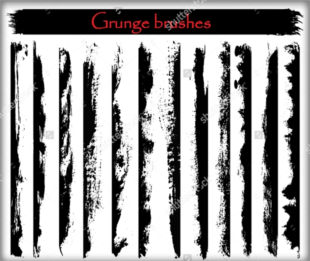 High Quality Grunge Brushes Collection