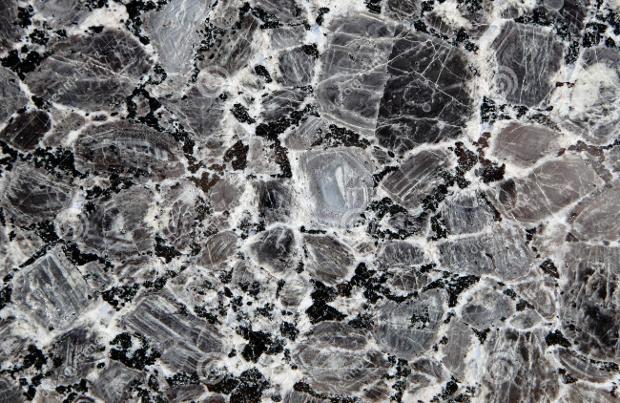 Flat Stone Black Marble Texture
