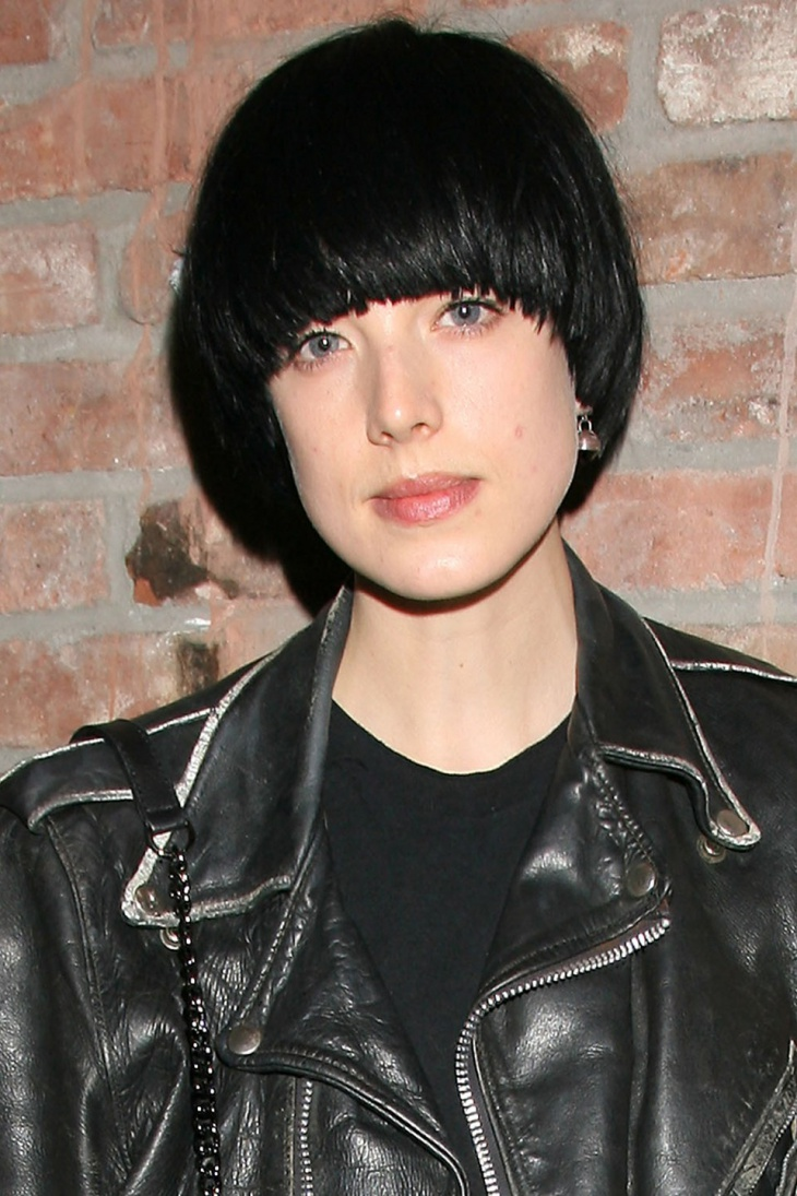 Agyness Deyn Mushroom Bob with Bangs