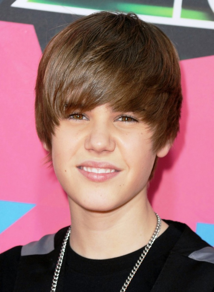 Justin Bieber Mushroom Haircut for Boys