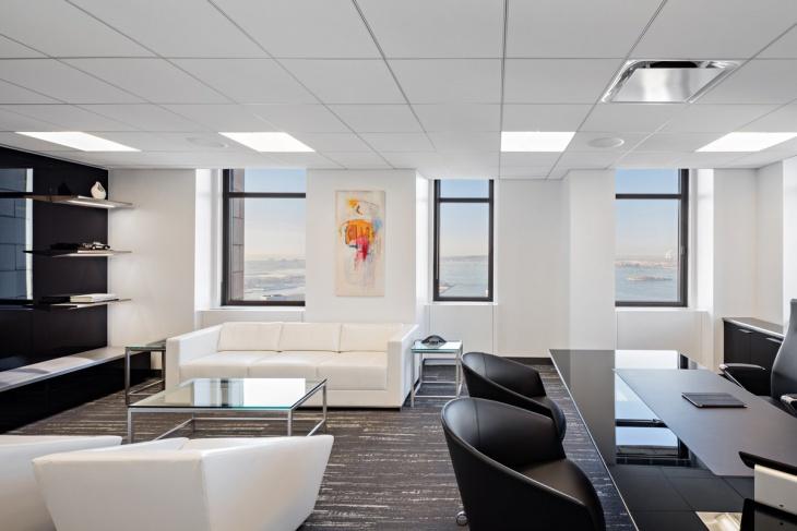 furnished modular office design