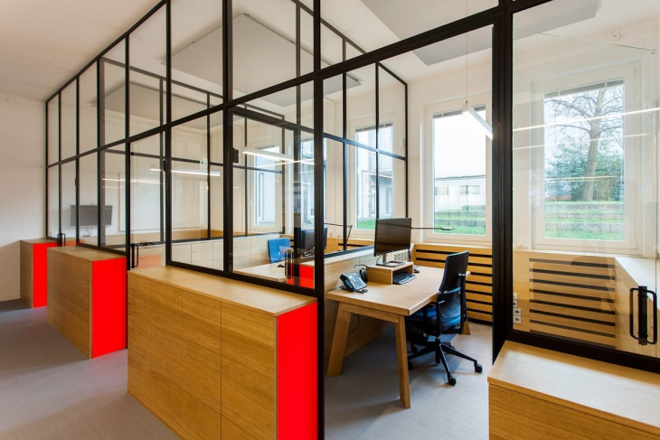 Interior Modular Office Design