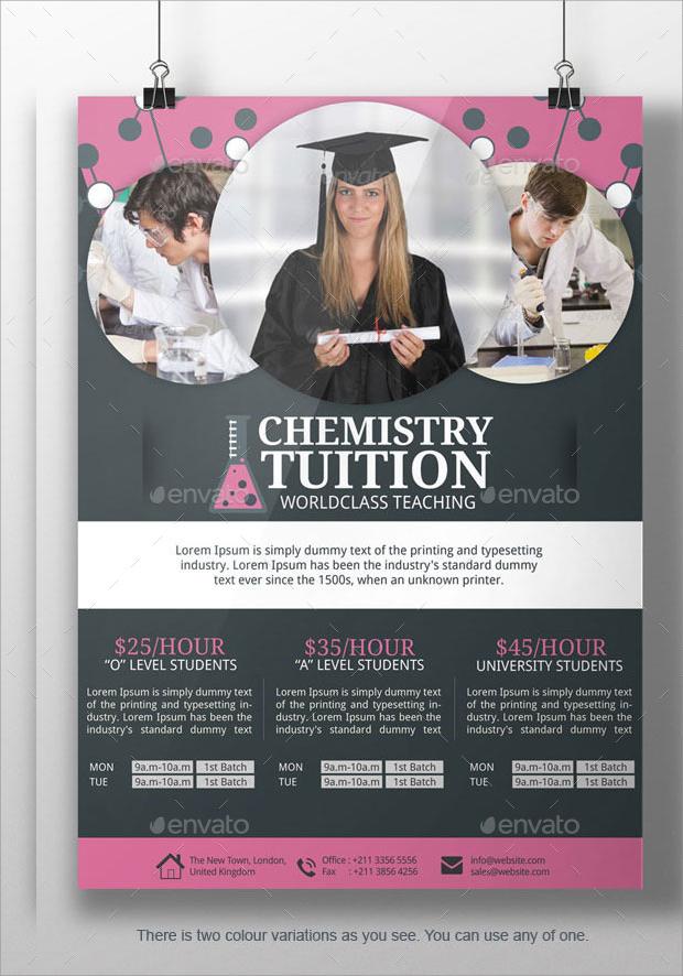 15 tutoring flyer templates printable psd ai vector eps format