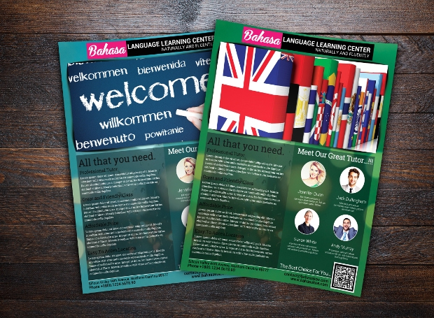 Language Learning Centre Flyer