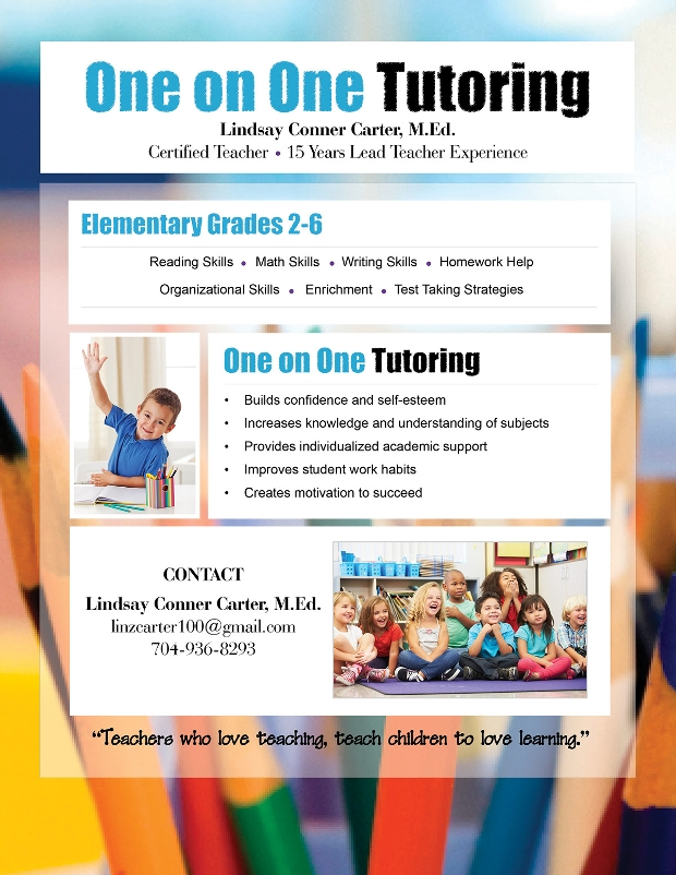 Informative Tutoring Flyer Design