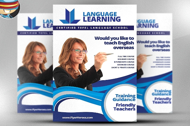 Teaching Flyer Template
