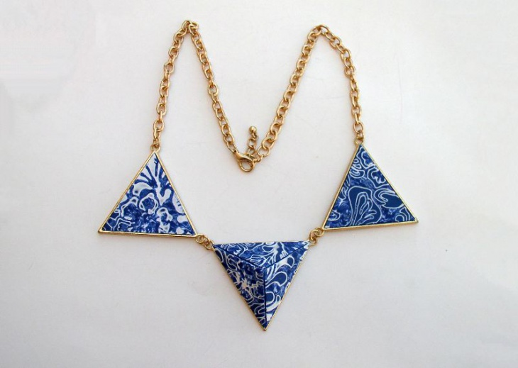 Triangle Shaped Necklace
