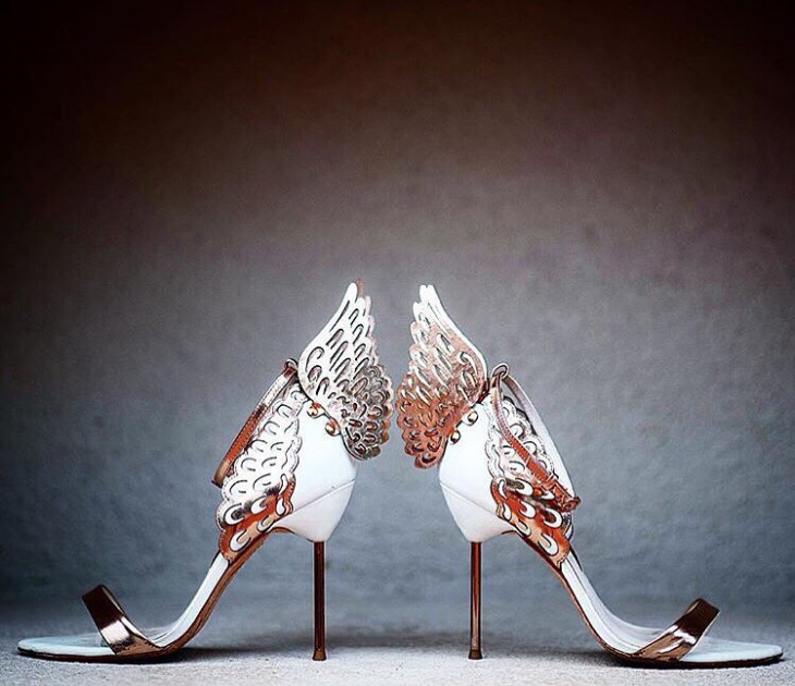 diy winged shoes
