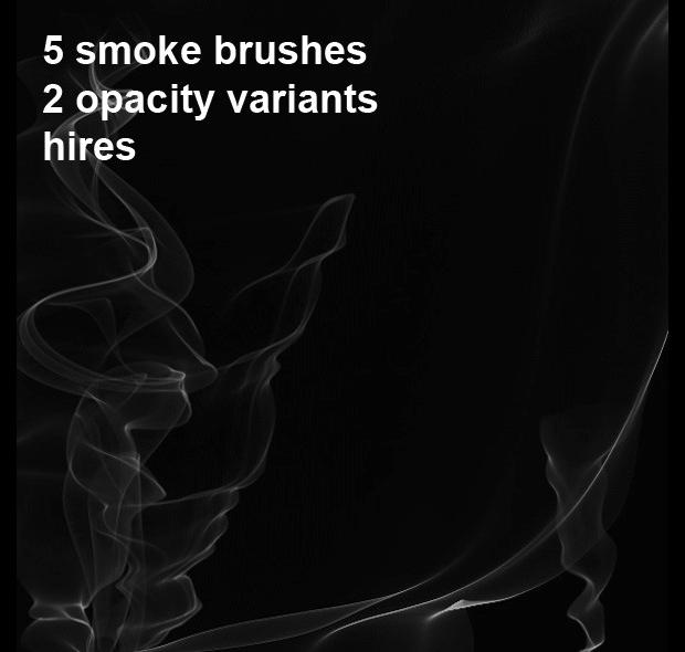High Quality Photoshop Smoke Brushes