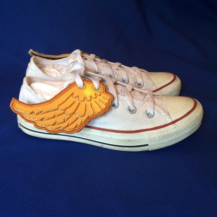 angel winged shoes