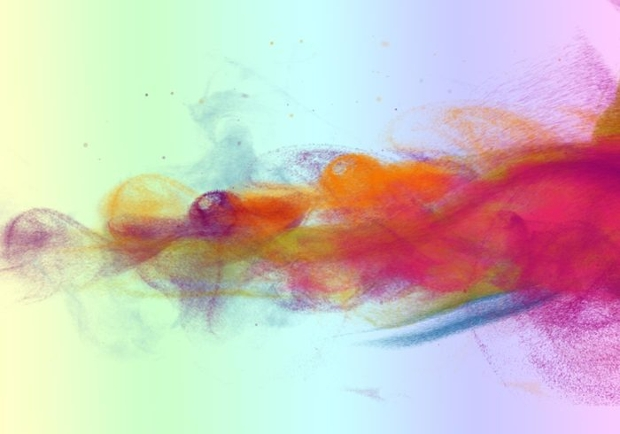 Abstract Particle Smoke Brushes