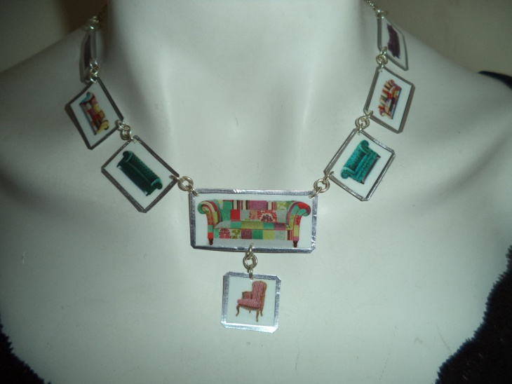Laminated Paper Jewelry