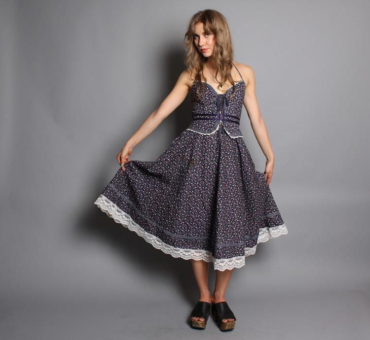 trendy ribbon midi dress