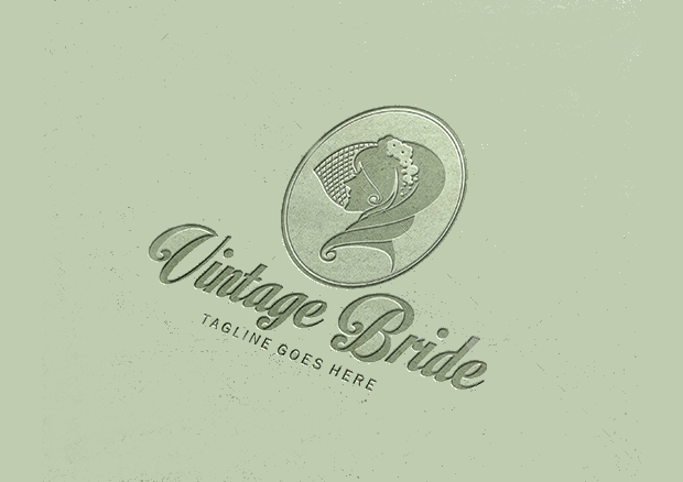 vintage bride logo