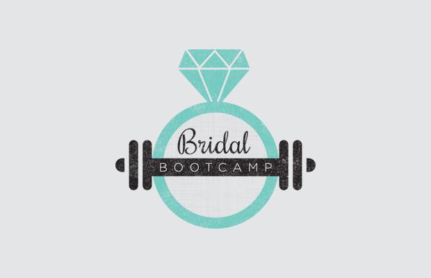 bridal bootcamp logo design