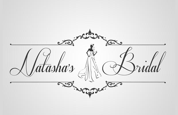 beautiful bridal logo design