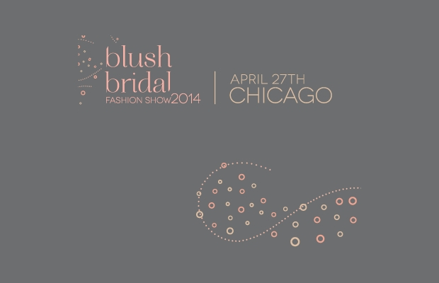 blush bridal fashion logo