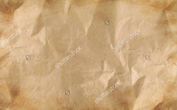 Brown Wrinkled Paper Texture