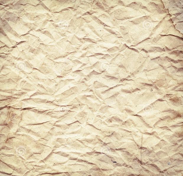 Old Wrinkled Vintage Paper Texture