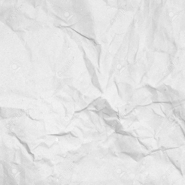 Old White Handmade Wrinkled Paper Texture