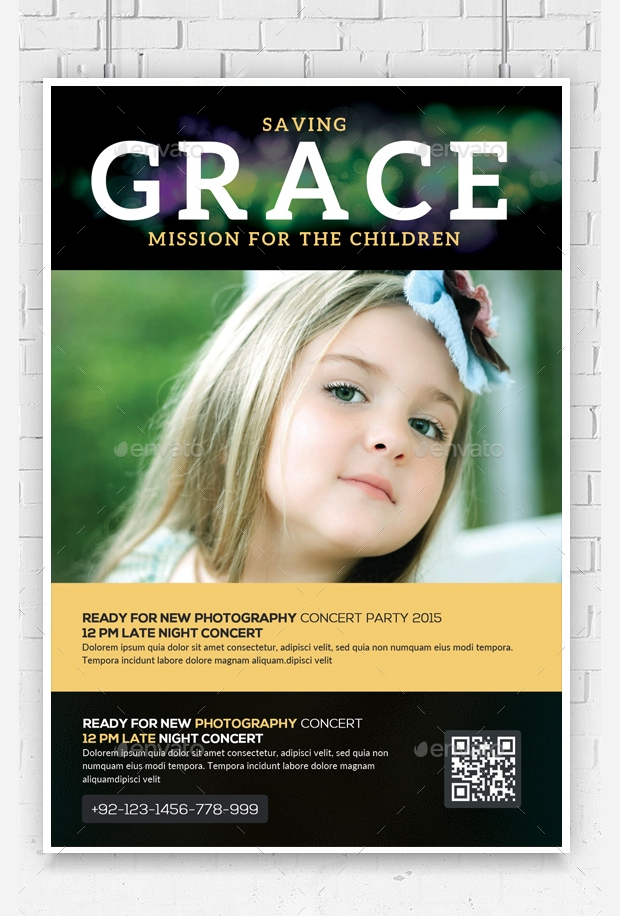 Church Charity Flyer