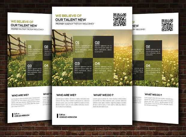 18 landscaping flyer templates printable psd ai for Landscaping flyers templates