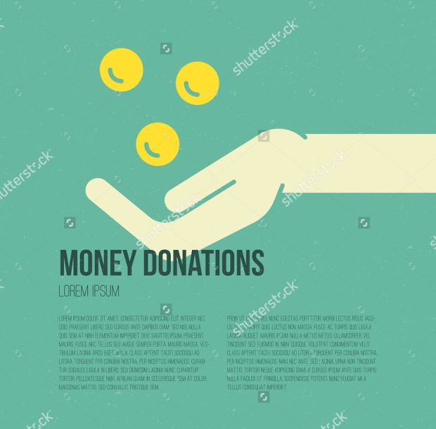 Charity Donation Concept Flyer