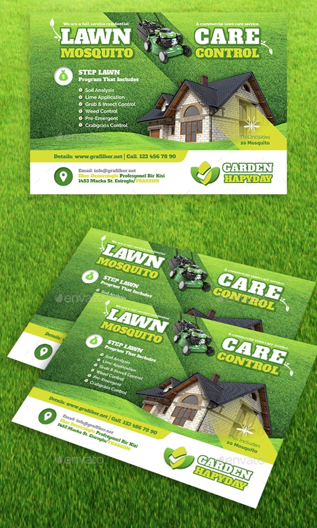 18+ Landscaping Flyer Templates - Printable PSD AI Vector EPS Format Download | Design Trends ...