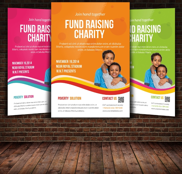 High Quality Charity Flyer Template