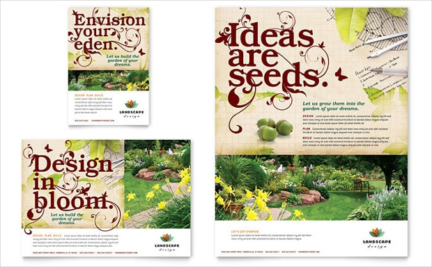 18+ Landscaping Flyer Designs - PSD, AI, Vector EPS ...