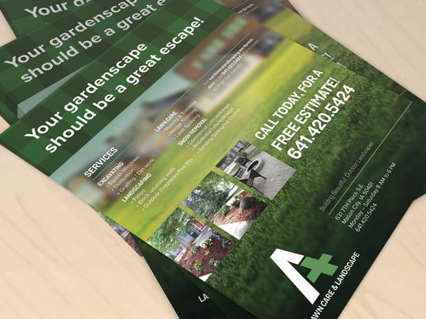 lawn care service flyer