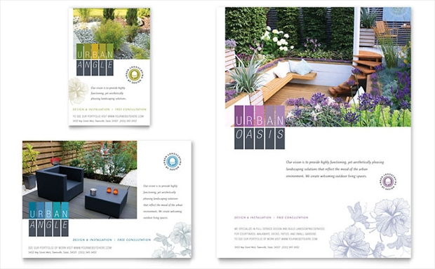Urban Landscaping Flyer