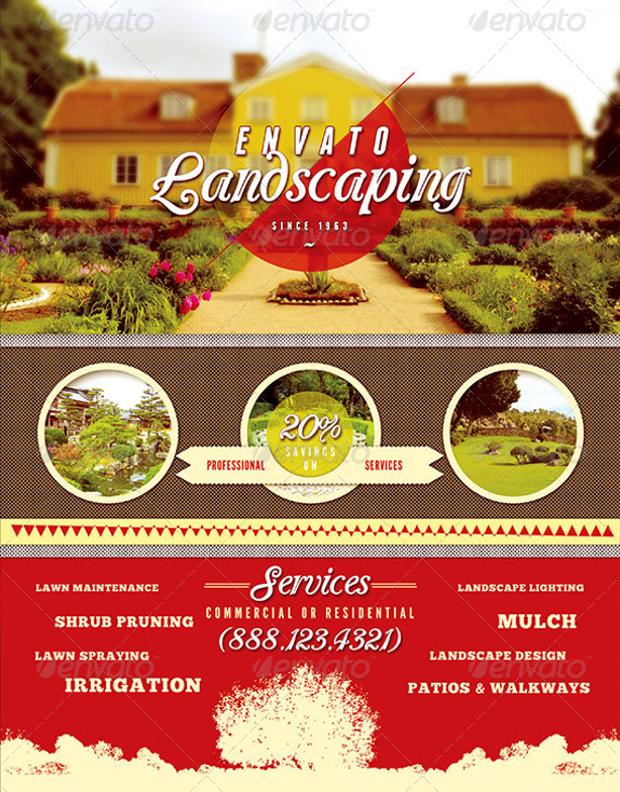 landscaping flyer design