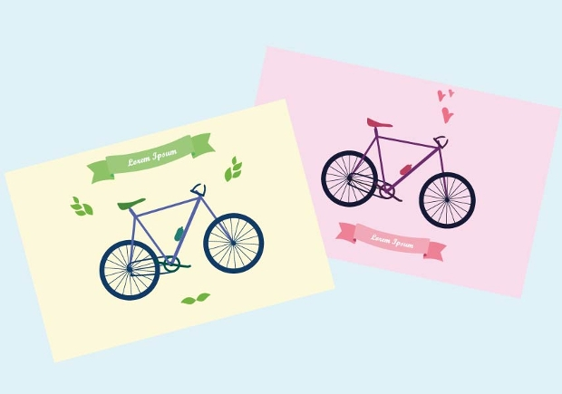 Bicycle Vector Illustrations