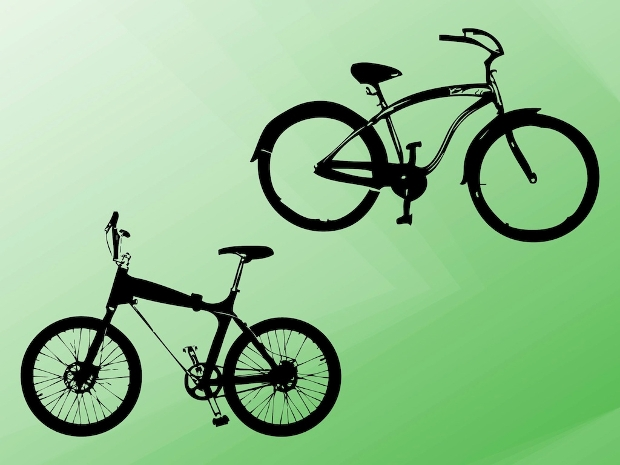 high quality bicycle vector