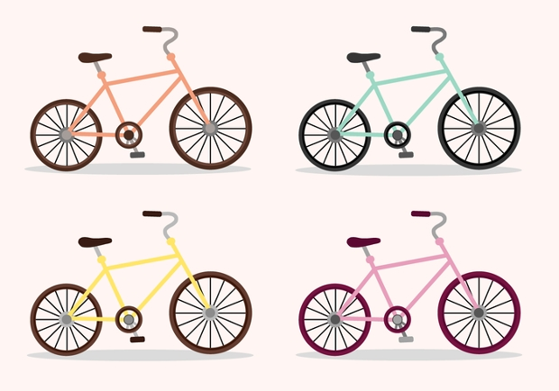 Free Bicycle Vector Illustration