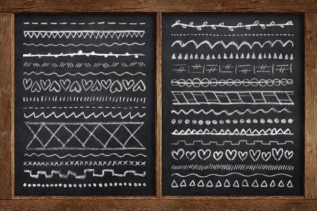 Chalk & Crayon Brushes